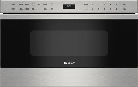Wolf Microwave Drawer 24 by Wolf Md24tes 24 Inch Microwave Drawer With 1 2 Cu Ft