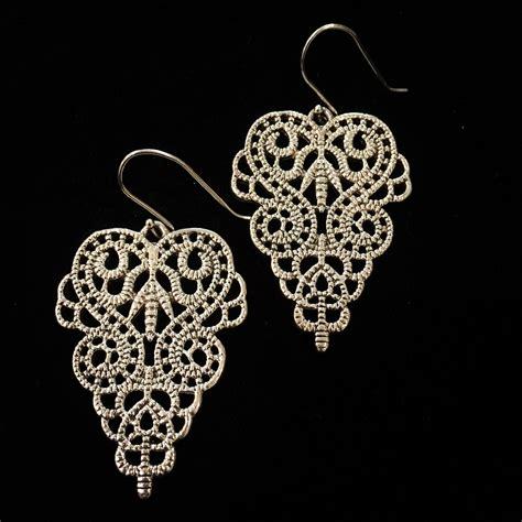 large pattern hooks sterling silver fancy large scroll pattern hook fitting