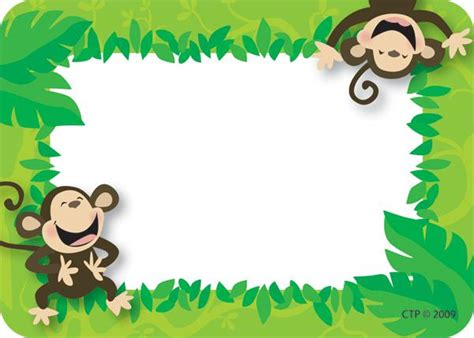 printable monkey name tags monkey business name tags ctp4506