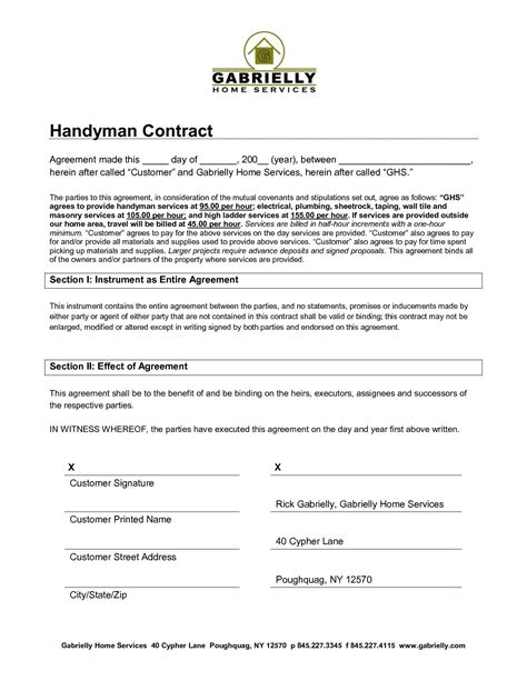 services agreement template free doc 7681024 simple contract for services template free