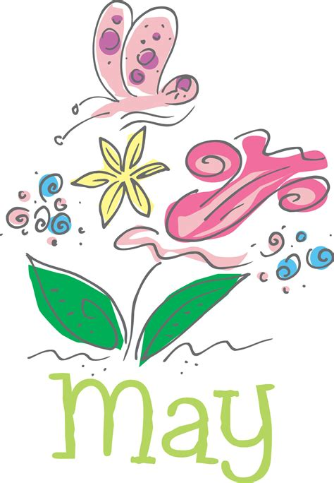 may clipart month of may clip pictures to pin on thepinsta