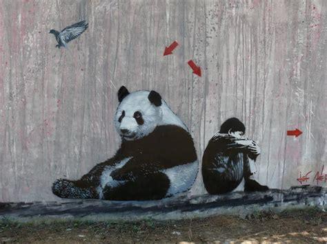 St Panda Biru Kid jef aerosol hits china unurth