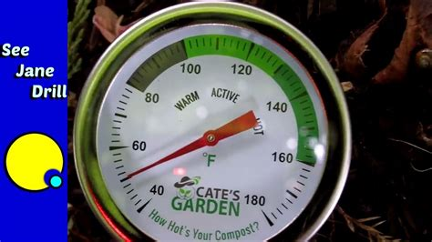Kompos Termometer how to use and read cate s garden compost thermometer