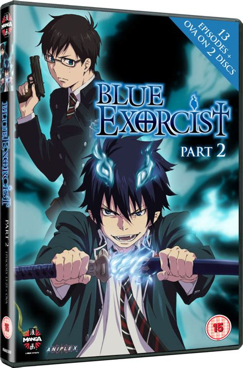 blue exorcist box set blue exorcist part 2 dvd zavvi