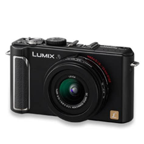 Leica D 3 Ultracompact Digicam Packs In 10 Megapixels by Panasonic Adds New Dmc Lx3 Digital To Its Lumix Lx