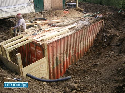 How To Bury A Cargo Container For Shelter   Joy Studio Design Gallery   Best Design