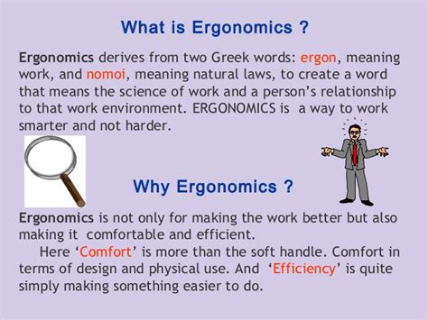 Words Meaning Comfort by Pc Ergonomics By Muhammad Fahad Ansari 12ieem14