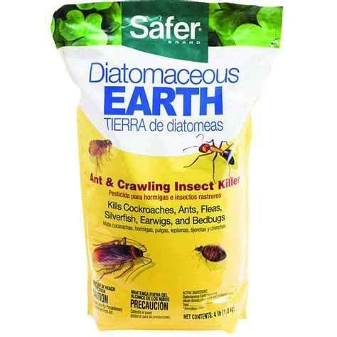 diatomaceous earth for garden pest safer diatomaceous earth insecticide gempler s
