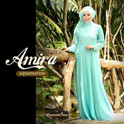 baju pesta songket amira fs2649 amira aquamarine baju muslim gamis modern