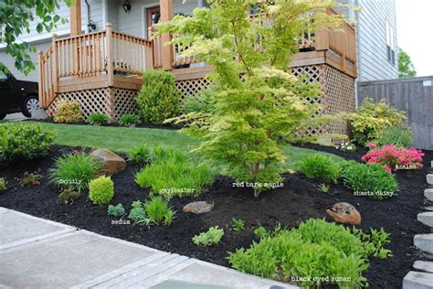 mulch front yard landscaping front yard landscaping ideas with mulch