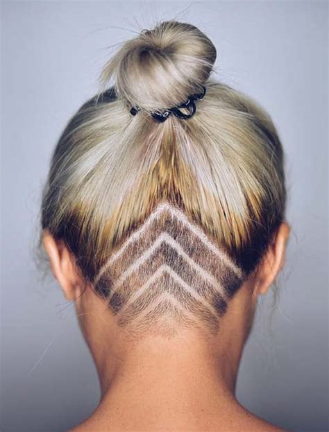 Hairstyles For 45 With Hair by 45 Undercut Hairstyles With Hair Tattoos For With