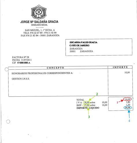 modelo recibo por prestacin de servicios con retencion c 243 mo considerar cantidad adelantada en factura de