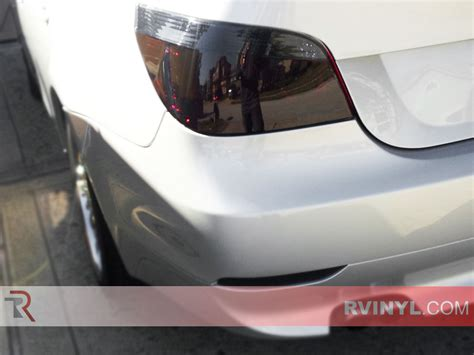 bmw x1 tail light cover rtint 174 bmw 5 series sedan 2004 2010 tail light tint film