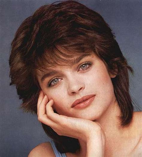 short 80 blown back hair styles women 80s short hairstyles for women