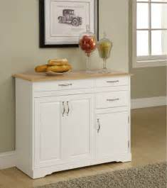 Kitchen Hutch Furniture by Small White Kitchen Buffet Cabinet Home Furniture Design