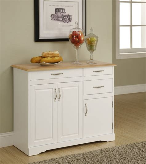White Kitchen Buffet Cabinet | small white kitchen buffet cabinet home furniture design
