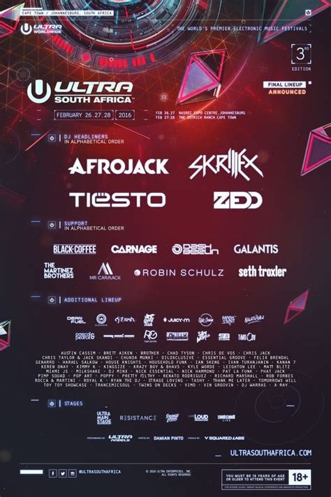ultra south africa lineup 2019 mr cape town ultra south africa 2016 the mfw festival guide
