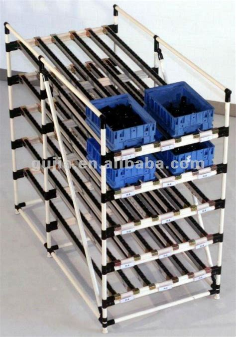 Roller Racks by Lean Pipe And Roller Track For Flow Rack Buy