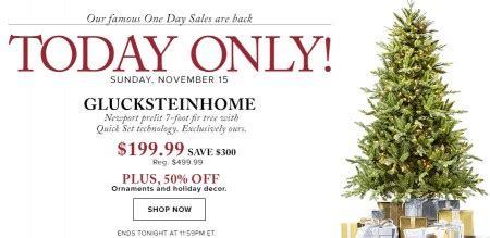 hudson bay christmas tree ads hudson s bay one day sales 60 glucksteinhome pre lit tree 50 ornaments and