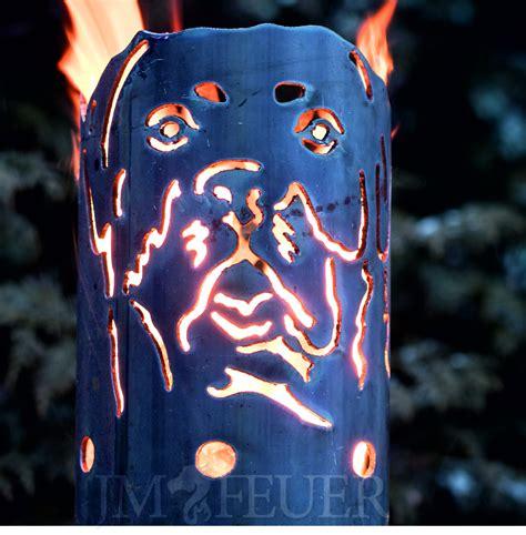 Jm Feuer by Gartenfackel Rottweiler Ohne Stiel Fackeln