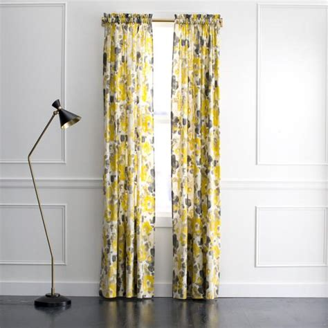 grey and yellow drapes yellow and gray curtains www pixshark com images