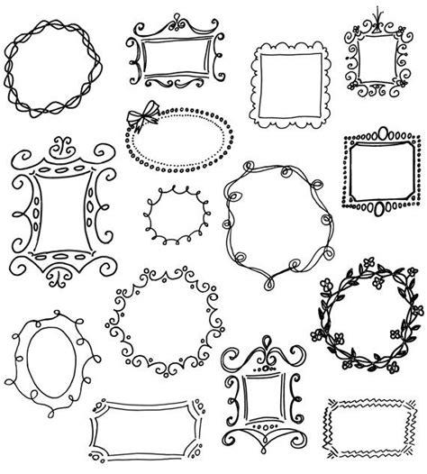 doodle and drawing 25 unique doodle frames ideas on doodle