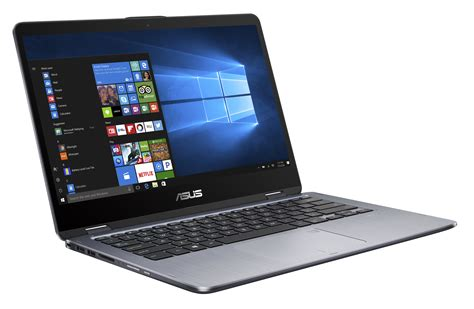 Laptop Asus 17 Inch I7 asus vivobook flip tp410ua db71t 14 inch fhd touchscreen intel i7 1tb 8gb ddr4 windows 10