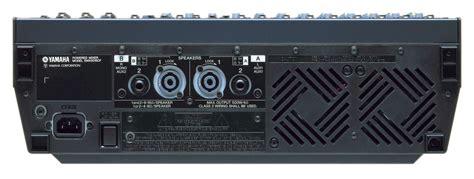 Power Mixer Yamaha Emx 5016 emx5016cf mixers products yamaha