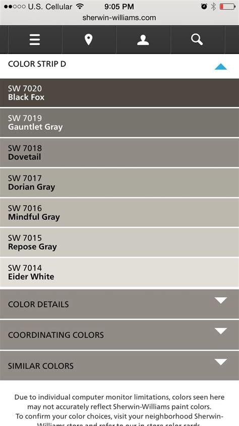 what colors make grey sherwin williams greys used from fixer dovetail and