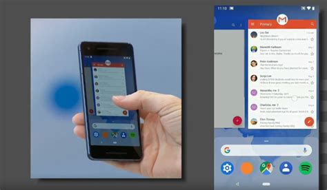 When Android P Will Come by David Burke Shows New Android P Gesture Controls At