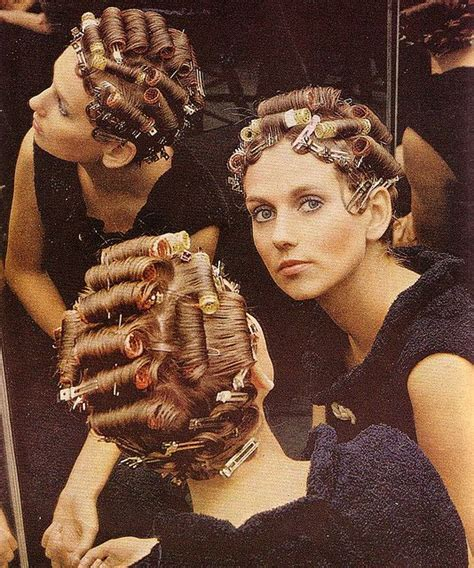 old fashioned home perms pincurls set old school style hair pinterest