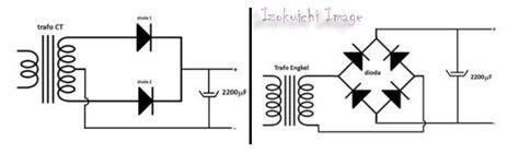 dioda trafo ct elektronika 25 skema rangkaian elektronika newhairstylesformen2014