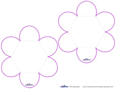 free printable flower stencil templates cliparts co