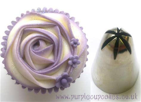 Purple Cake Decorating Ideas Rose Swirl Buttercream Nozzle
