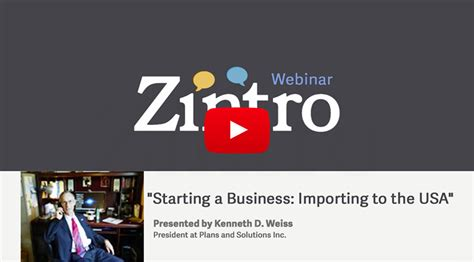 Mba In Export Import In Usa by Quot Starting A Business Importing To The Usa Quot Presented By