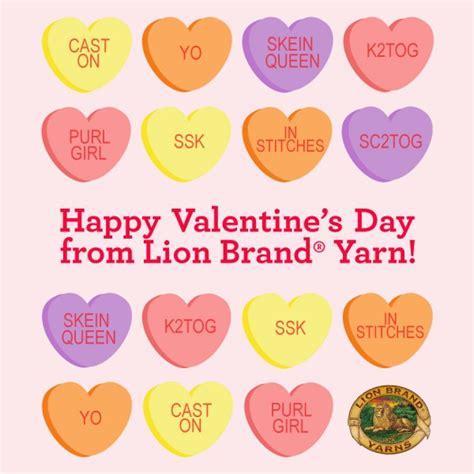 9 fashion statements for 2015 lion brand yarn happy valentine s day from lion brand yarn lion brand