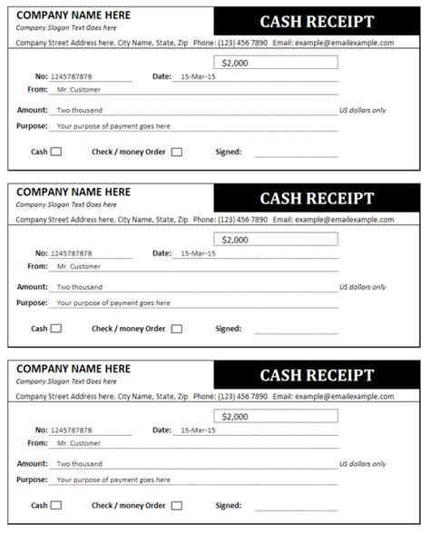 business receipts templates receipt template helloalive