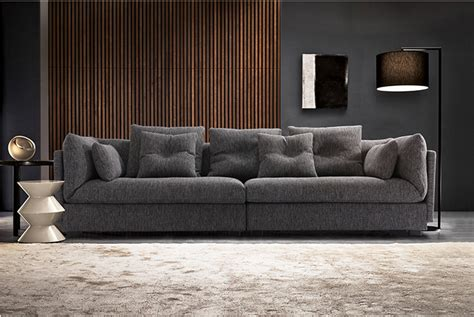 sofas italianos italian modern simple design grey color fabric sofa living