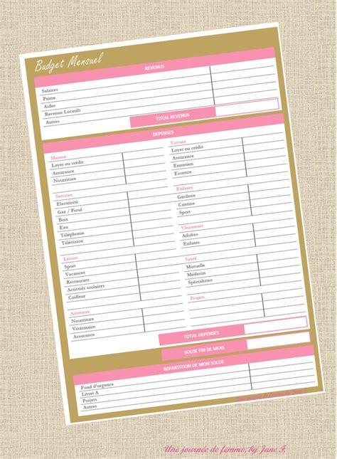 Calendrier Budget Mensuel 17 Meilleures Id 233 Es 224 Propos De Planificateur De Budget