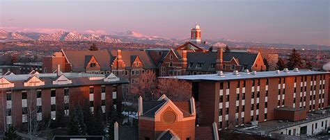 Of Denver Mba Programs by Regis Regis Neighborhood And Community