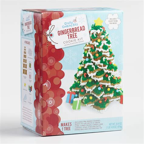 gingerbread tree cookie kit world market