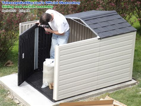 how to install rubbermaid shed roof software