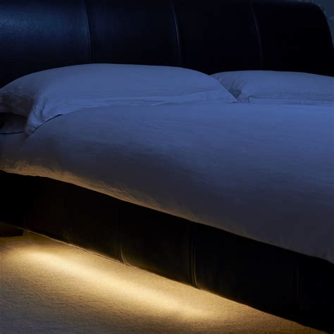 under bed lighting auraglow wireless pir motion sensor 30 led wardrobe under