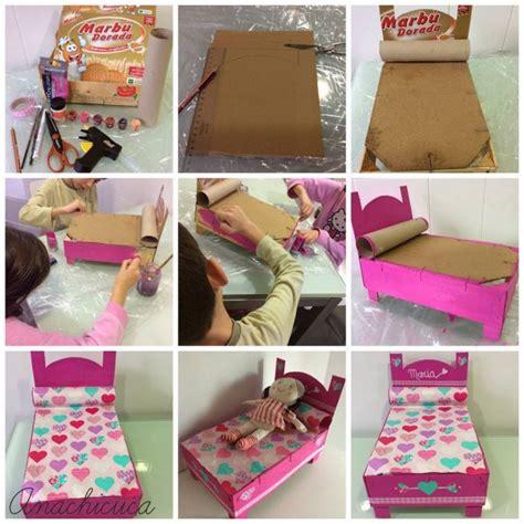 imagenes de uñas paso x paso 191 c 243 mo hacer una cama para mu 241 ecas con material reciclado