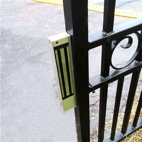 swing gate lock aleko lm176 24v electromagnetic lock swing gate opener