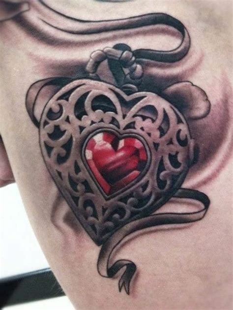 tattooed heart original tattoo motive herz die herzform als coole tattoo idee