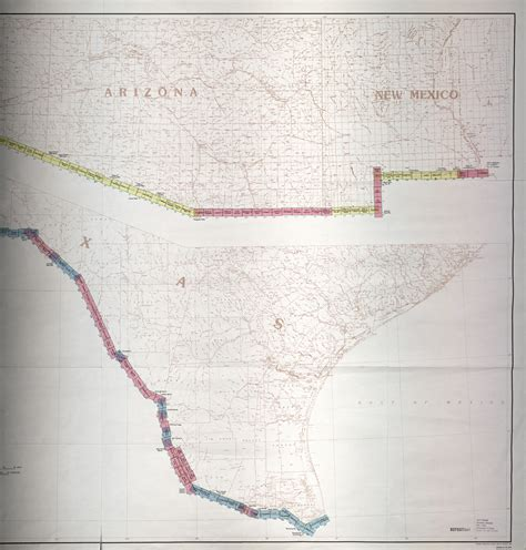map of texas mexico border mexico united states border perry casta 241 eda map collection ut library