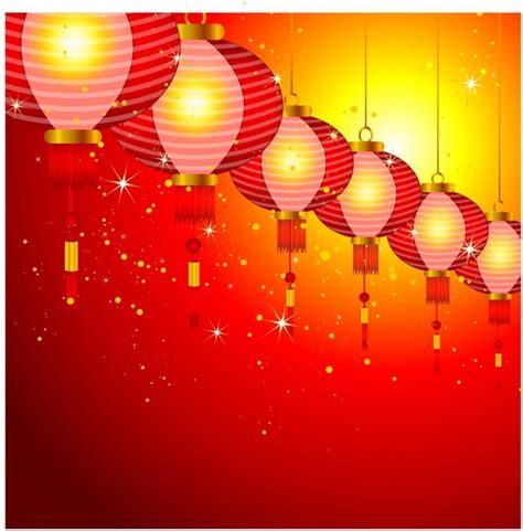 new year lanterns map new year background design with lanterns free