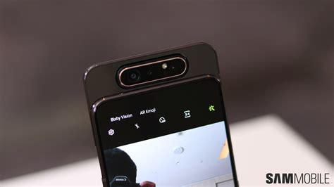 Samsung Galaxy A80 Mobile by Samsung Galaxy A80 On Sliding Into A No Notch No Future Sammobile