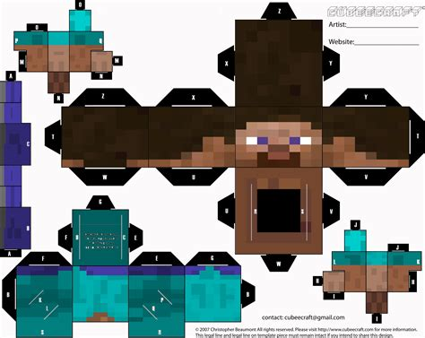 How To Make Minecraft Steve Out Of Paper - cubeecraft minecraft cubeecrax